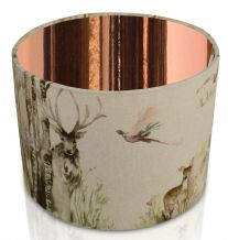 Voyage Maison Enchanted Forest Mirrored Copper interior Lampshade